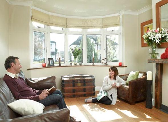 Double glazed bay window - high energy rating - sittingbourne, kent, south east, england