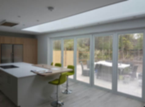 In window blinds - magnetic, motorised and hard wired electric blinds