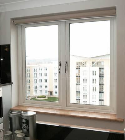Double glazed french window - high energy rating - faversham, kent, south east, england