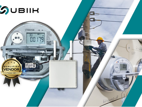 Ubiik Wins US $19.2 Mn of Taiwan 2020 AMI Tender to Deploy 310,000 Electricity Meters Network