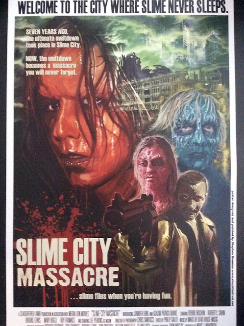 SLIME CITY MASSACRE Movie Poster