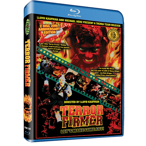 TERROR FIRMER 20th Anniversary Blu-Ray!