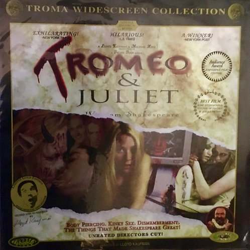 1998 Tromeo and Juliet LaserDisc!