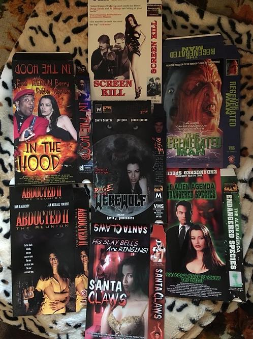 7 Classic VHS Box Covers!