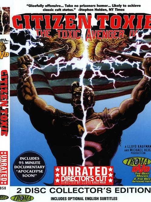 Citizen Toxie: The Toxic Avenger 4 DVD - 2 disk set