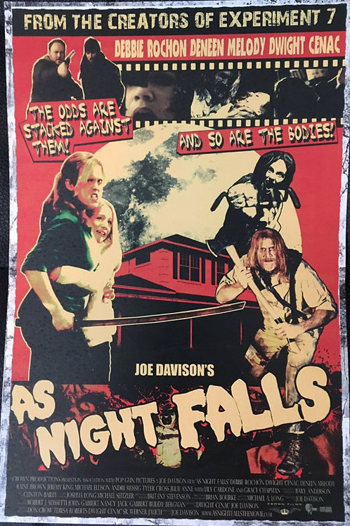 AS NIGHT FALLS mini poster!