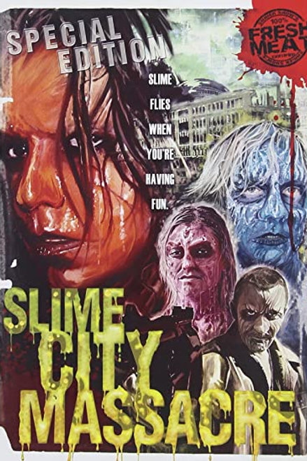 Slime City Massacre DVD- 2 disks
