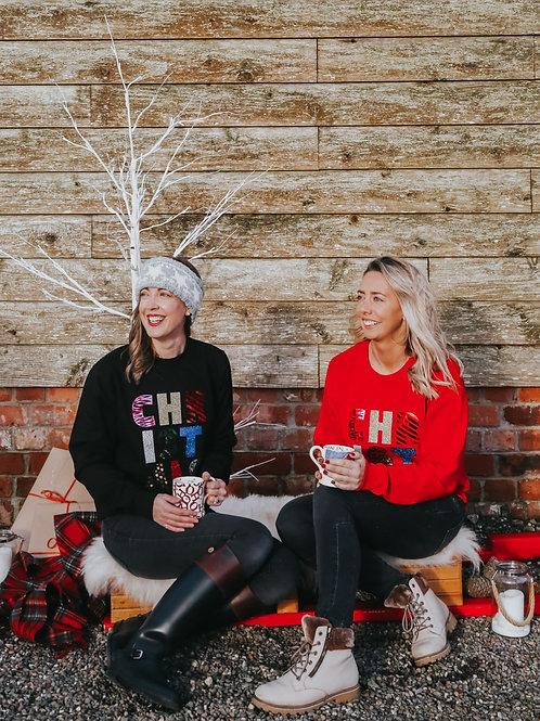 CHRISTMAS sweatshirt - adult
