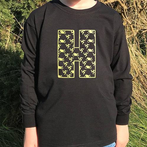 Isle of Man personalised long-sleeved tshirt