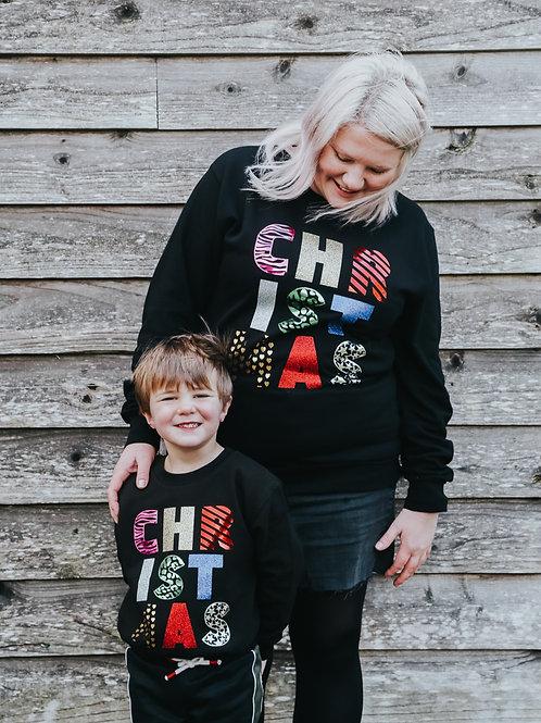 CHRISTMAS sweatshirt - twinning