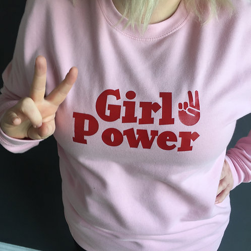 Girl Power ladies sweatshirt