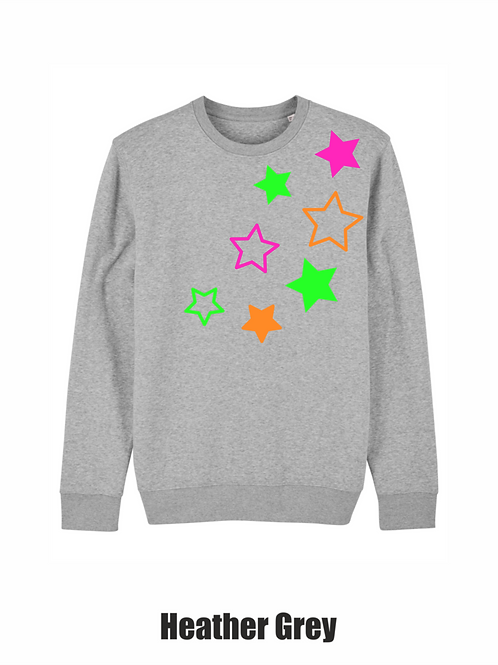 Large stars sweatshirt