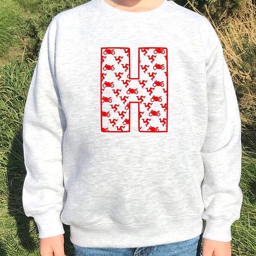Isle of Man personalised children's sweatshirt