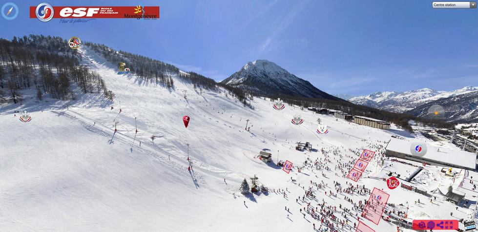 Station de ski Montgenevre