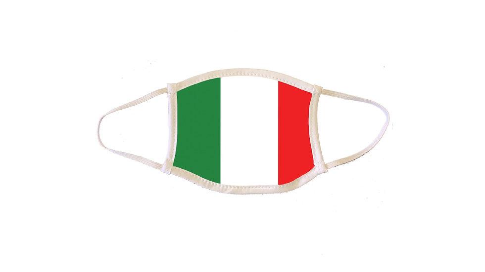 Italian Flag Mask