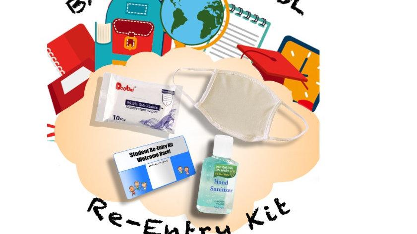 Student Re-Entry Kit (Standard Mask)