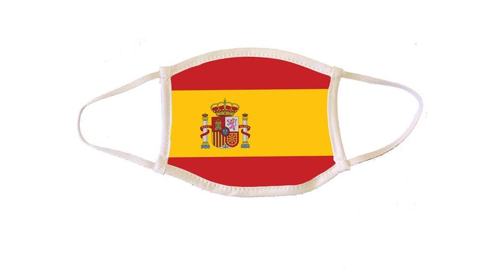 Spanish Flag Mask