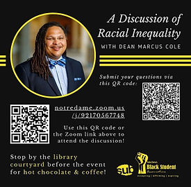 A discussion of racial inequality w/ Dean Cole