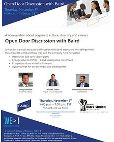 Discussion with Baird