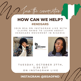 Learn about #ENDSARS