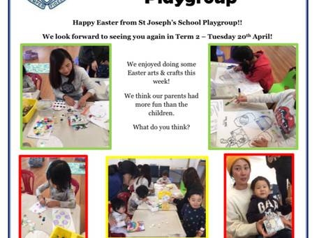 Happy Easter from Playgroup