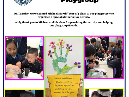 Mothers Day at Playgroup