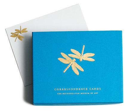 Tiffany Dragonflies Correspondence Cards
