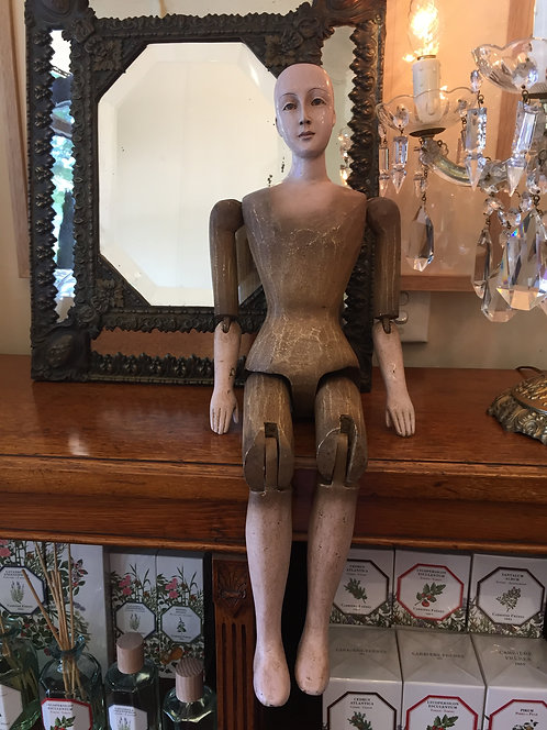 Vintage French Articulated Mannequin