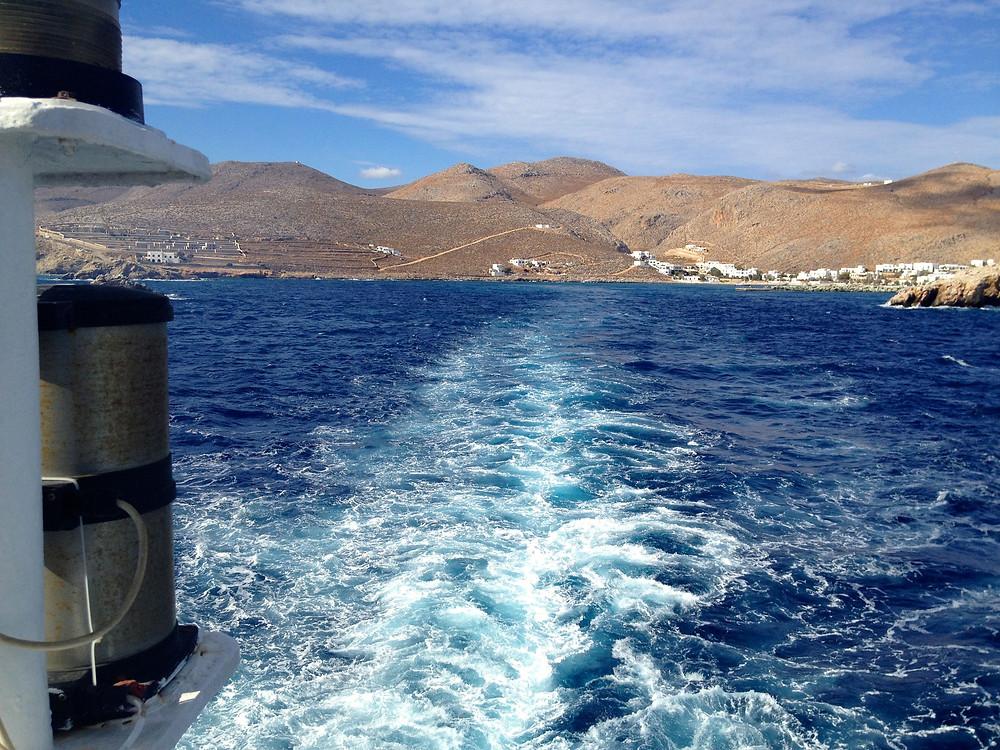 leaving the island