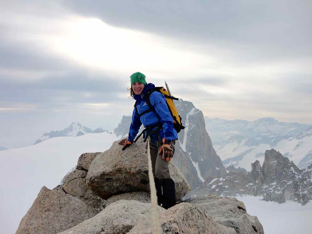 Top of Tete Blanche