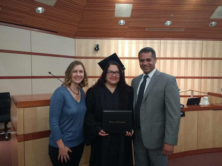 Career Online High School Celebrates its Most Recent Graduate