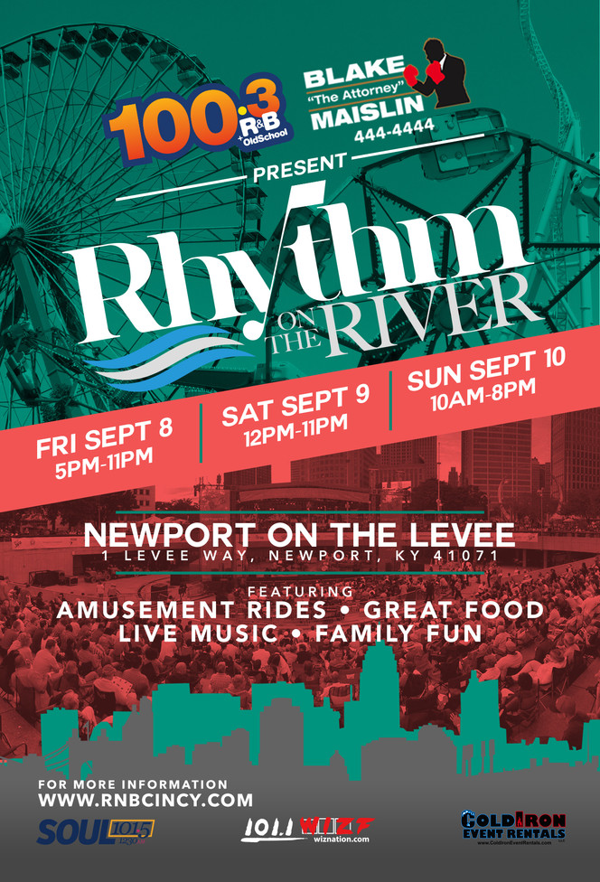 Mark Your Calendars for Rhythm on the River!!