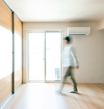 Air conditioner, home, cooling