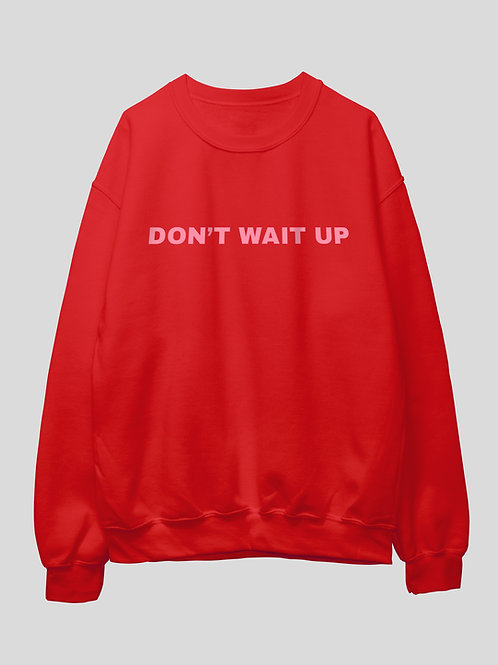 Don't Wait Up  Hoodie