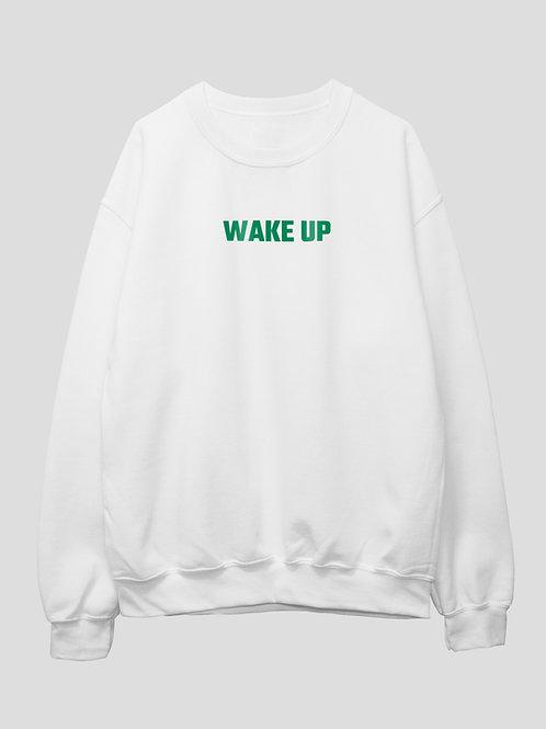"""""""WAKE UP"""" Crew Neck"""