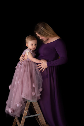 Maternity, bump to baby, Lebanon Pennsylvania newborn and maternity photographer