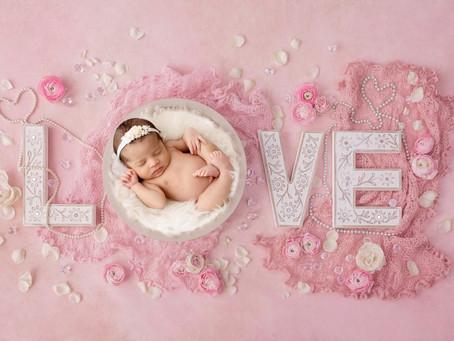 Elianna Newborn Photos: Mary Bradley Photography: Experienced Newborn Photographer
