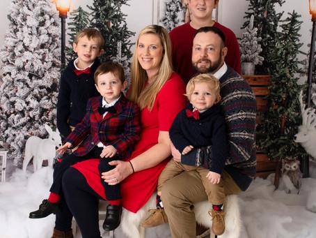 Christmas 2020! Fredericksburg, PA newborn Photographer