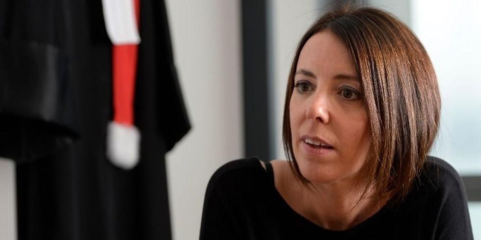 Lausanne - Déjeuner discussion avec Camilla Masson