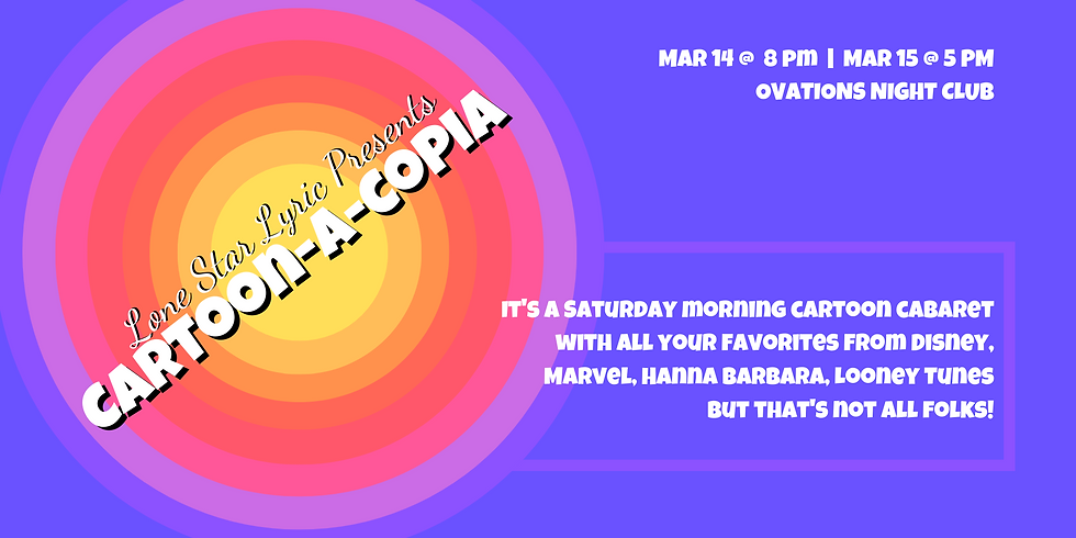 Cartoon-a-Copia - Saturday Performance