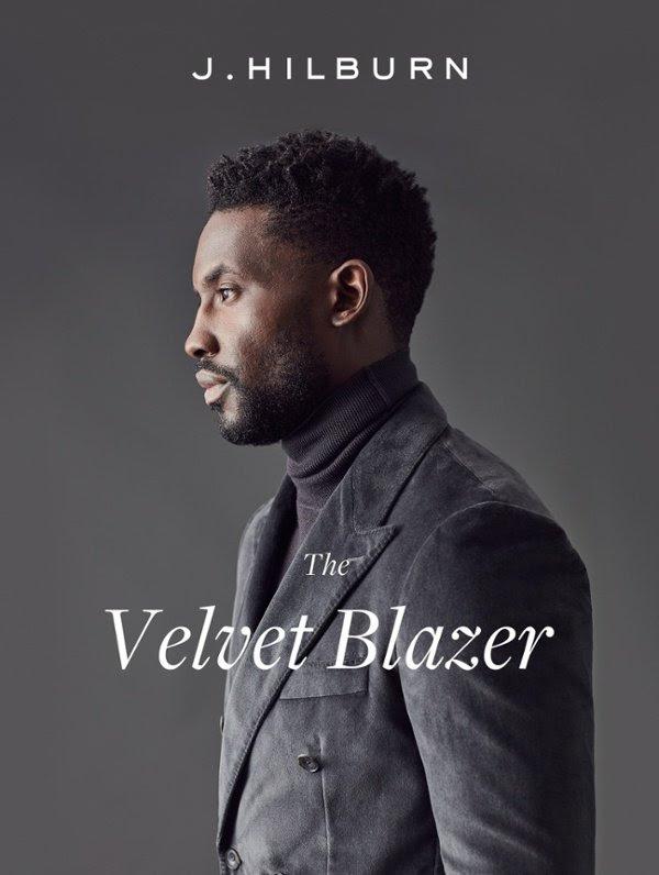 J Hilburn Velvet Blazer