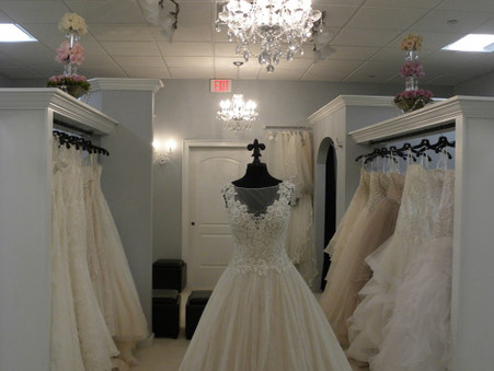 We are now located in our New Bridal Salon located at 51-C Main Street Hudson, MA 978-568-3333