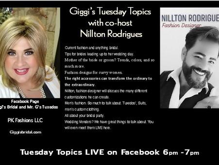 Boston Brides what is Giggi & Nillton up to?