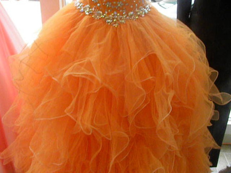 Your sweet 15 dress is here at Giggi's Bridal