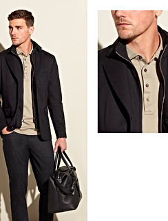 Now available in a luxury wool cloth is our Storm System outerwear. Don't let the rain or wind bother you with the Green Storm System® shield reinforced by Loro Piana Rain System® with 50% of the material coming from a renewable plant source. Create your custom-made outerwear piece with Keith, your Personal Stylist today.
