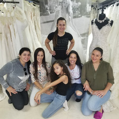 She said YES to her wedding dress