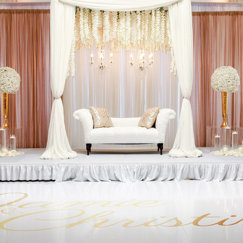 white-fabric-loveseat-with-two-flower-ce