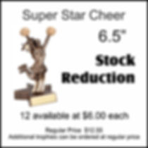 RST306 Super Star Cheer Stock Reduction.