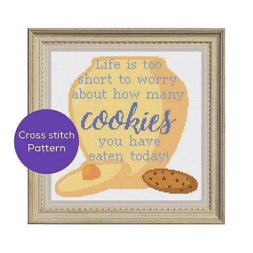 Cookies Cross Stitch Pattern
