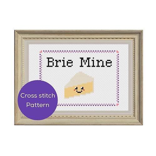 Brie Mine Cross Stitch Pattern